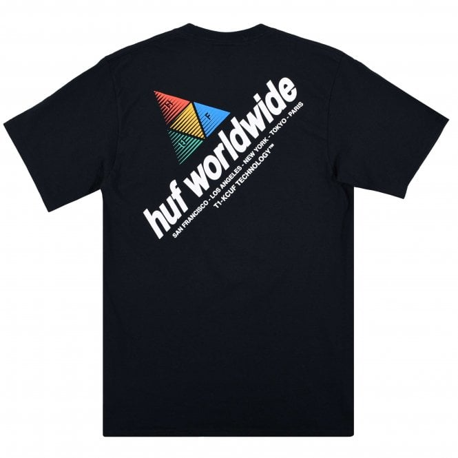 HUF Peak Sportif T-Shirt | Black