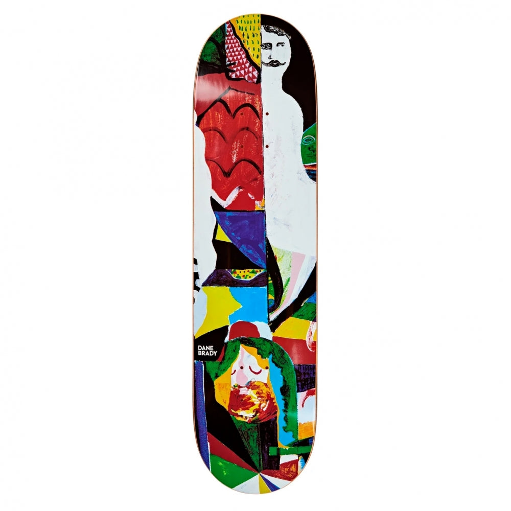 Polar Skate Co Dane Brady Memory Palace Skateboard Deck | 8.38""