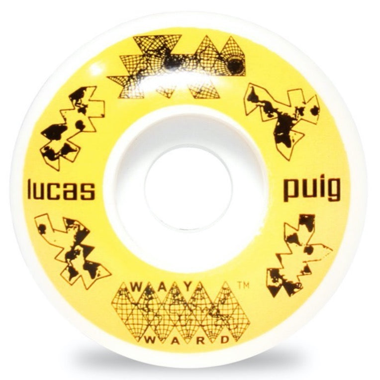 Wayward Funnel Pro Lucas Puig Skateboard Wheel | 52mm