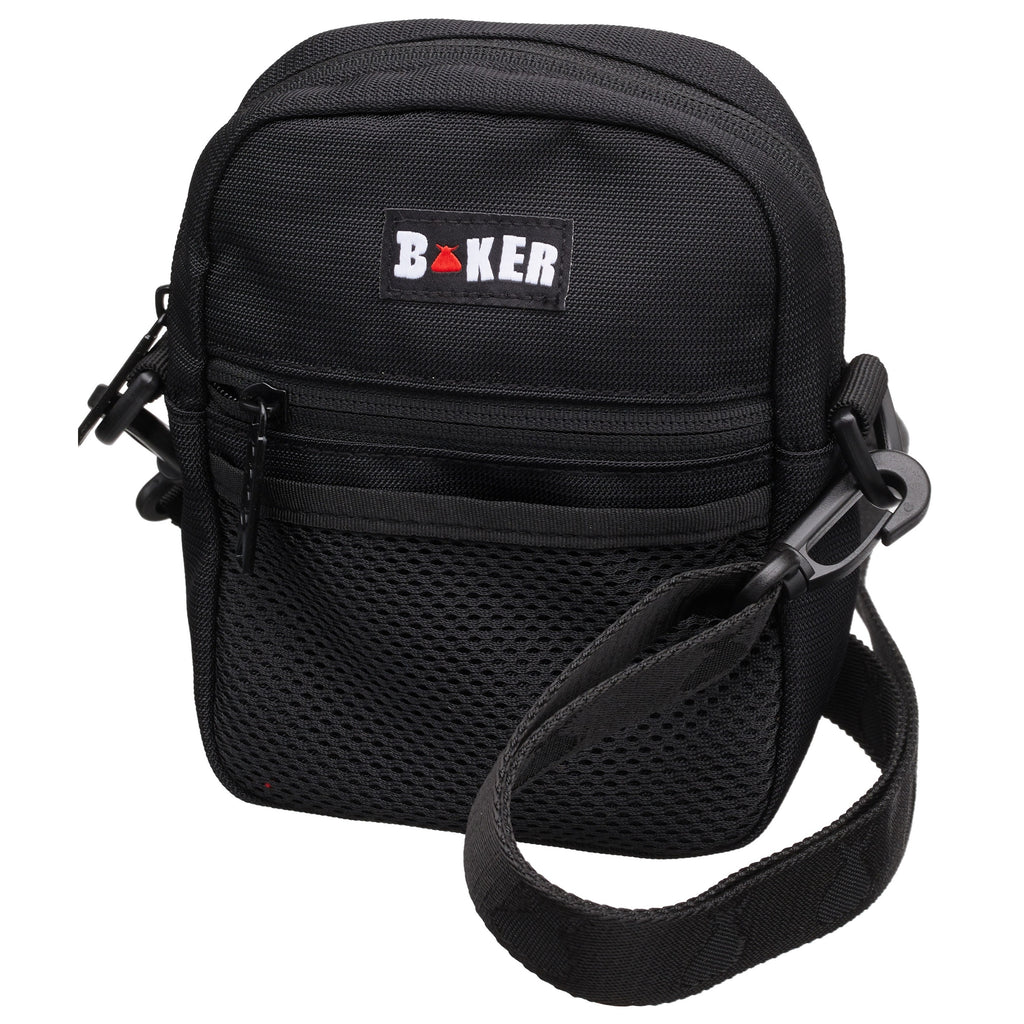 The Bum Bag Baker Shoulder Bag | Black - TVSC