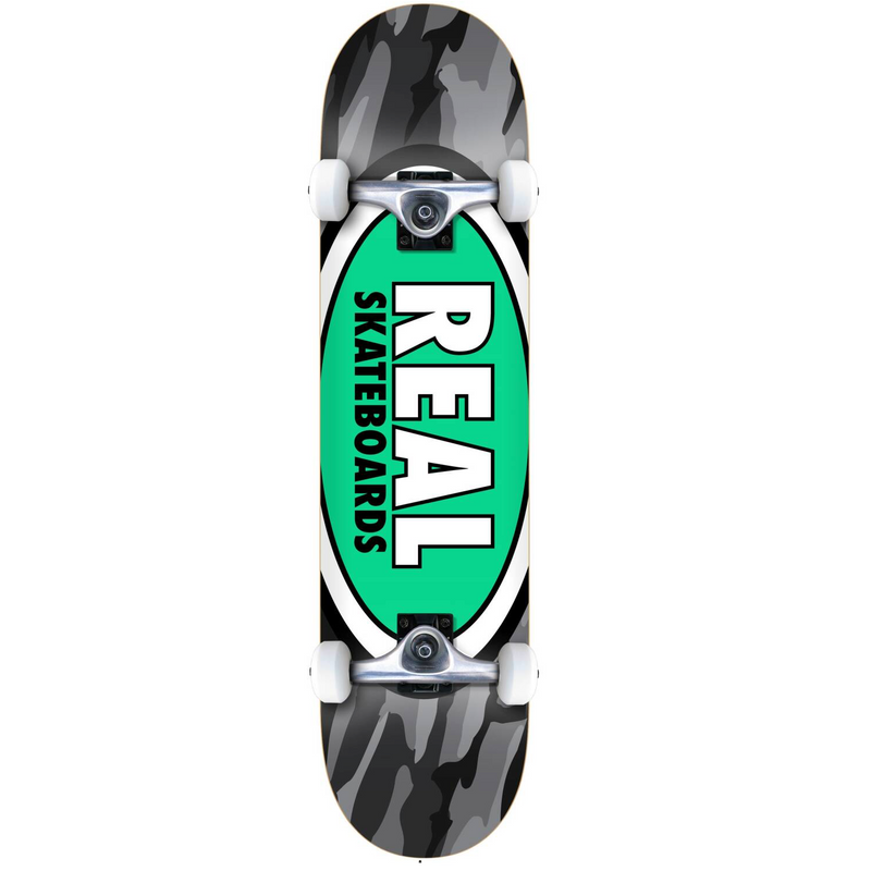 Real Skateboards Team Oval Complete Skateboard 8.25