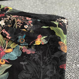 Riz Boardshorts Braunton Short Endangered Flower | Black - TVSC