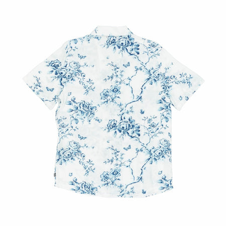 HUF Highline Short Sleeve Woven Shirt | White - TVSC