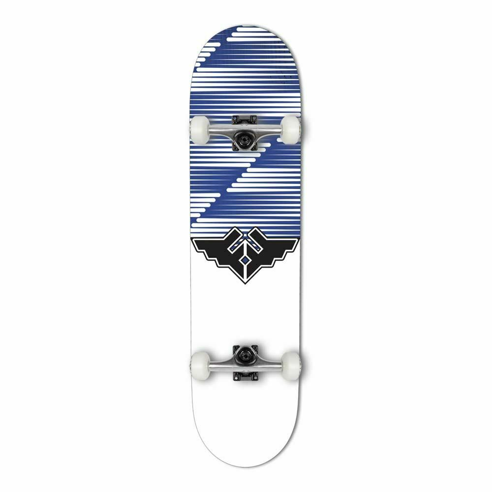 Fracture Skateboards Wings V2 Complete Skate Board Blue | 8""
