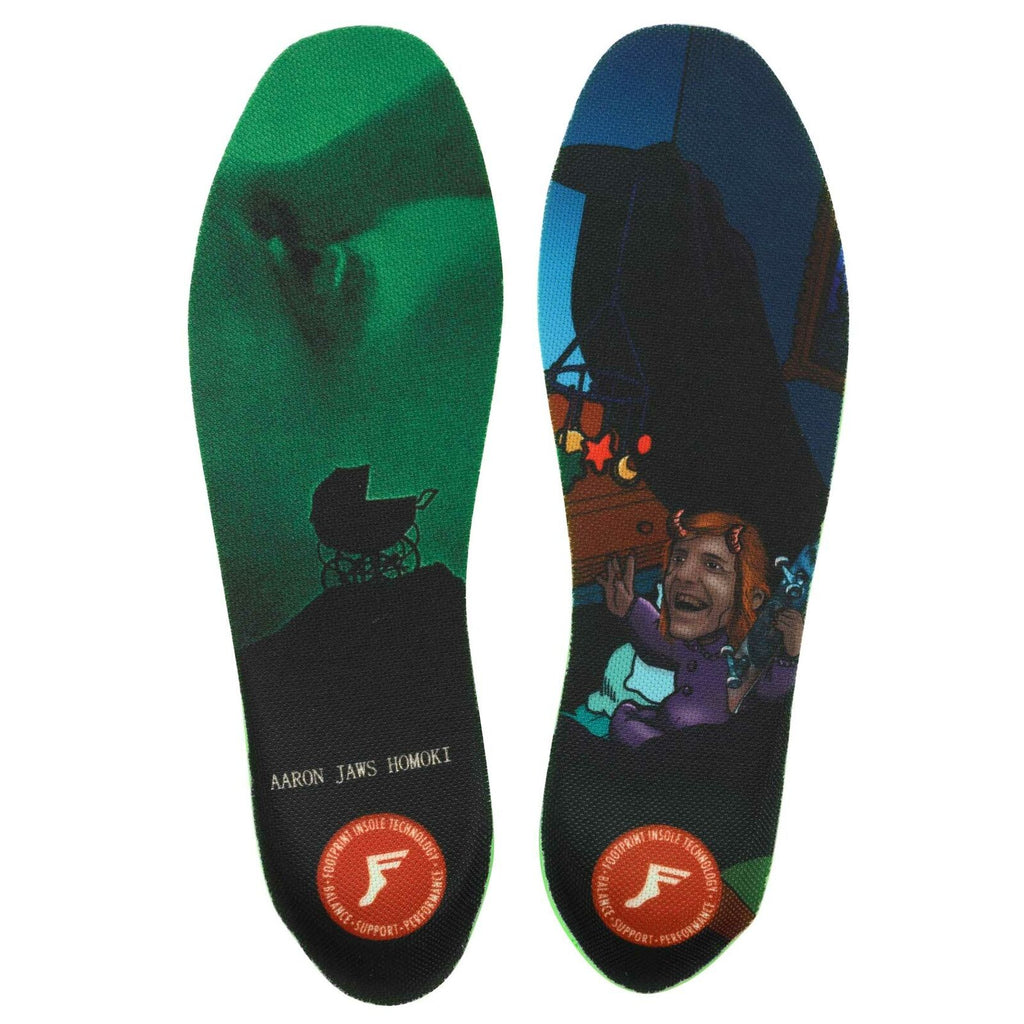 Footprint Footprint Kingfoam Elite Insoles UK8 - UK13 | Jaws Baby - TVSC