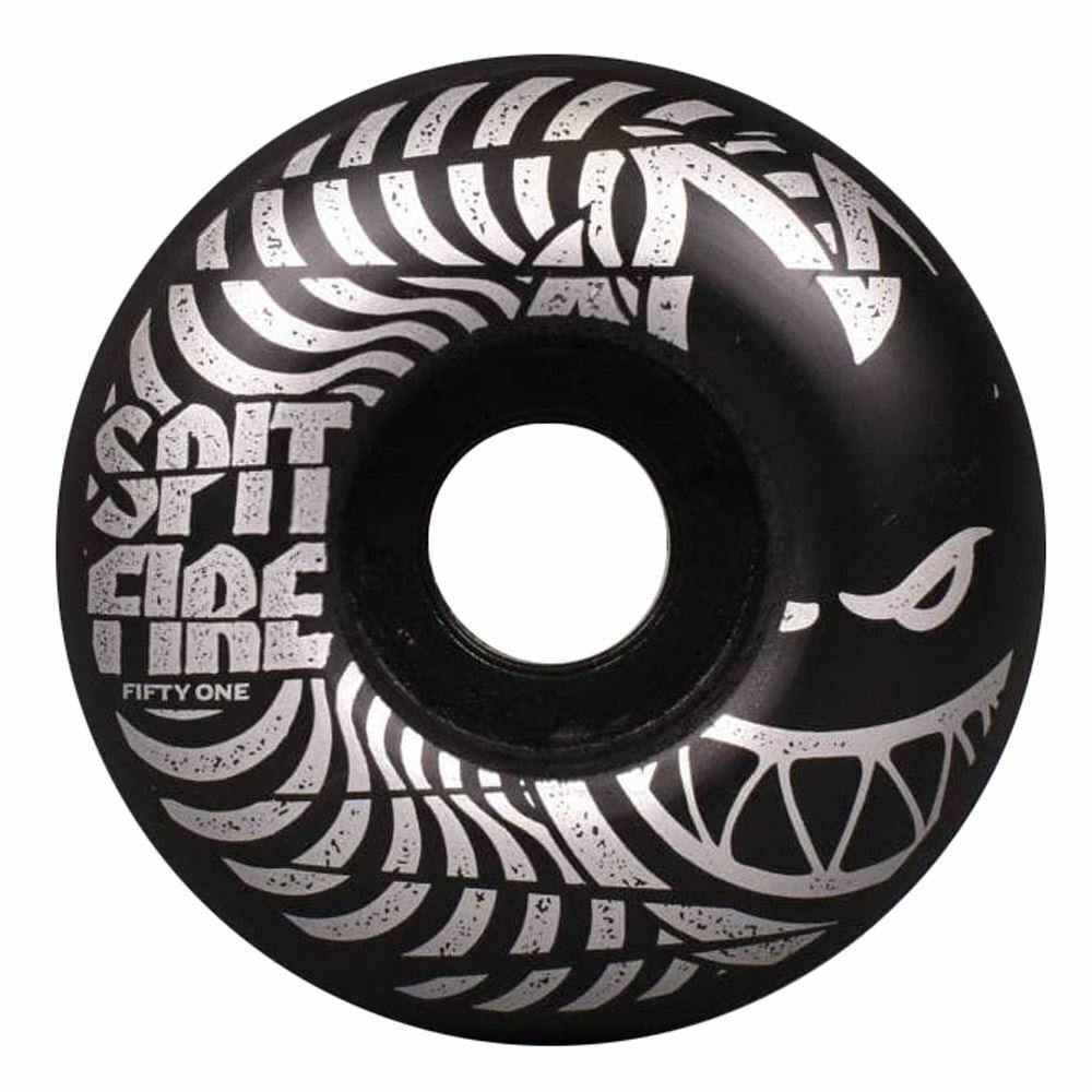 Spitfire Wheels Spitfire Low Downs 99D Skateboard Wheels Black | 51mm - TVSC