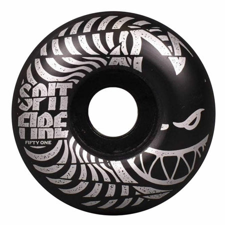 Spitfire Wheels Low Downs 99D Wheels Black | 51mm - TVSC