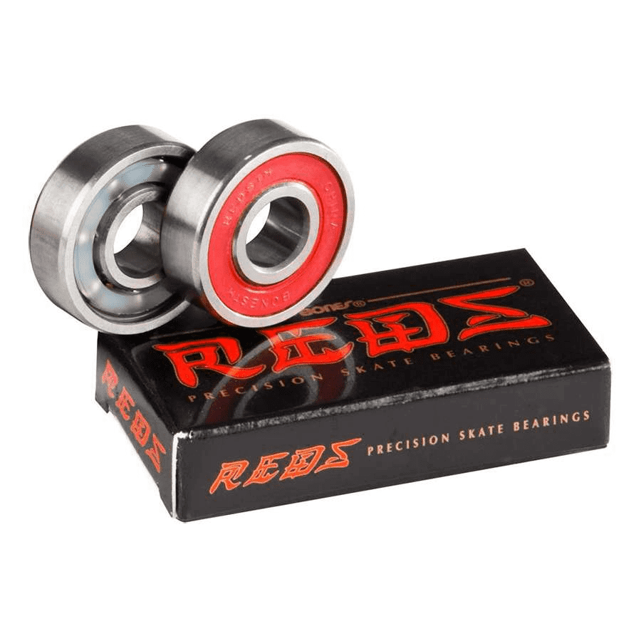Bones Bones Race Reds Precision Skate Bearings | Pack of 2 - TVSC