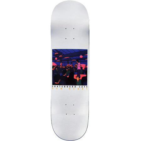 Skateboard Cafe Stand Up Dom Henry Deck White | 8.4""