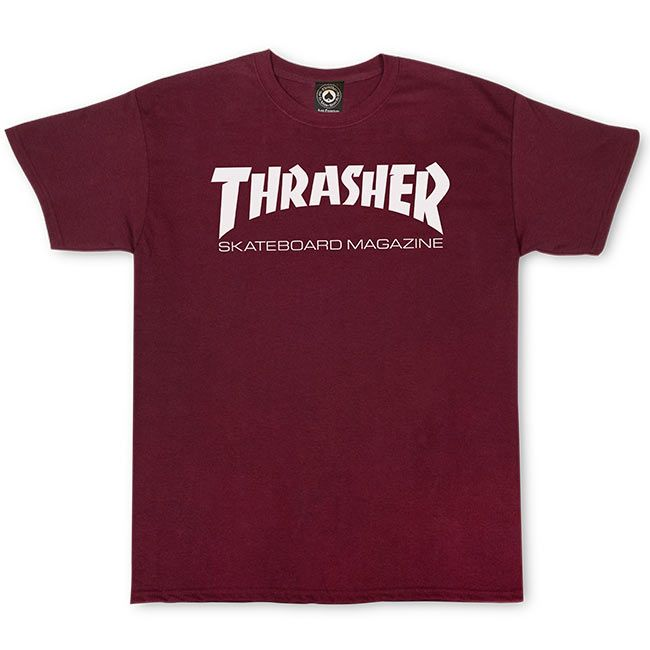 Thrasher Skate Mag Short Sleeve T-Shirt | Maroon