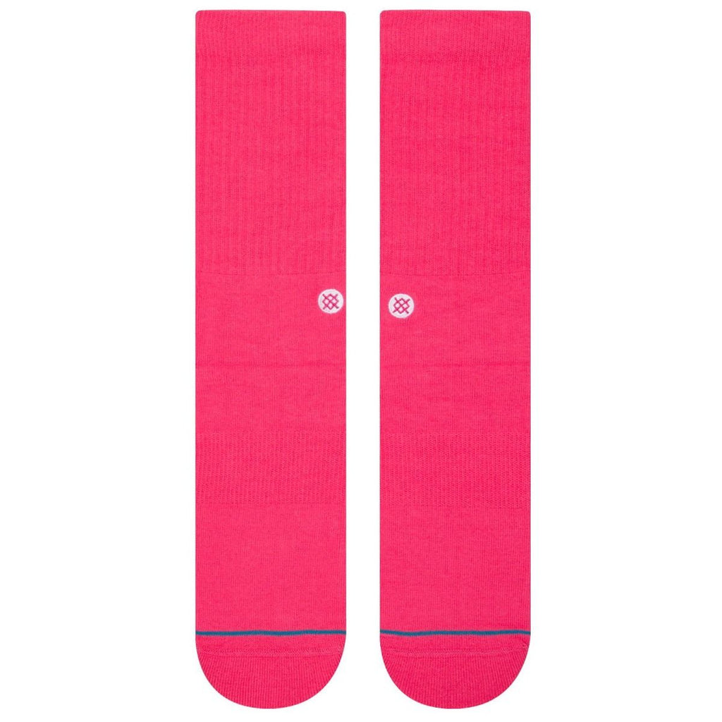 Stance Stance Socks Icon | Neon Pink - TVSC