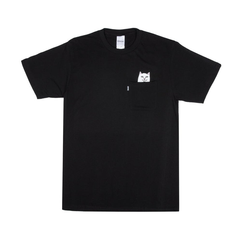 RipnDip Rip N Dip Lord Nermal Pocket T-Shirt | Black - TVSC