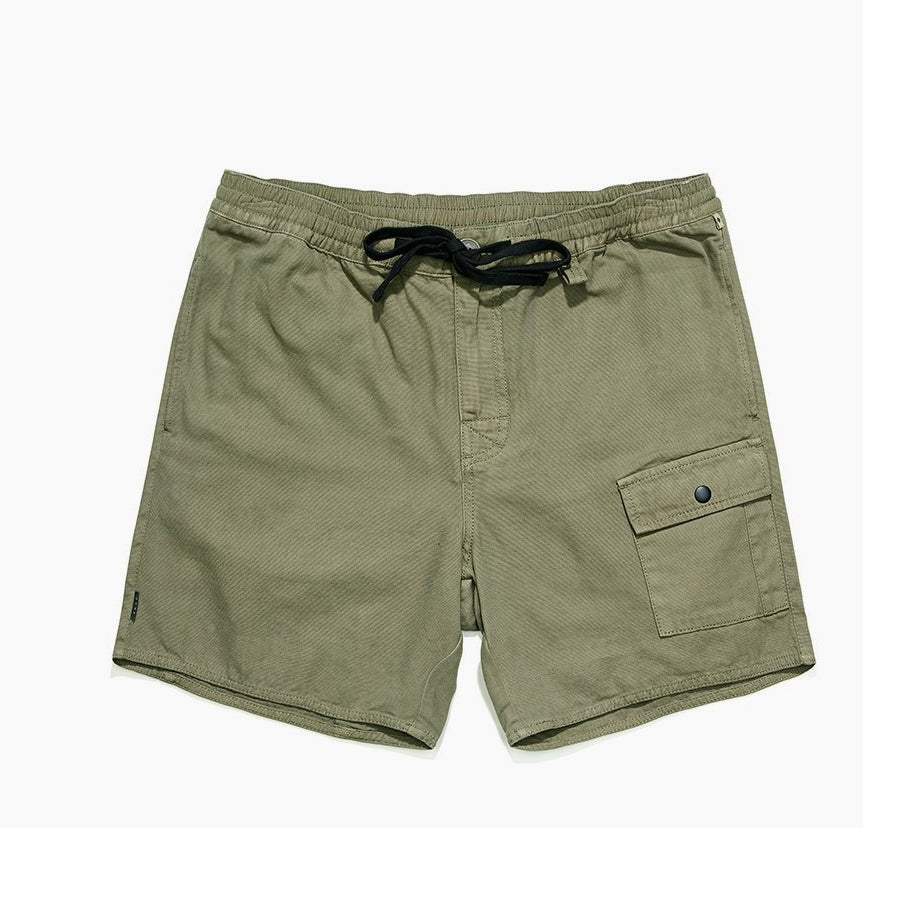 TCSS TCSS Darcy Canvas Walk Shorts | Fatigue Green - TVSC