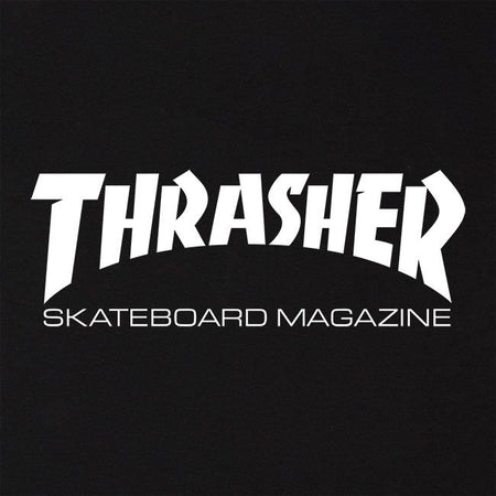 Thrasher Skate Mag T-Shirt | Black close up