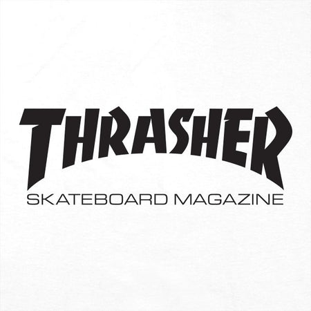 Thrasher Skate Mag T-Shirt | White Close up
