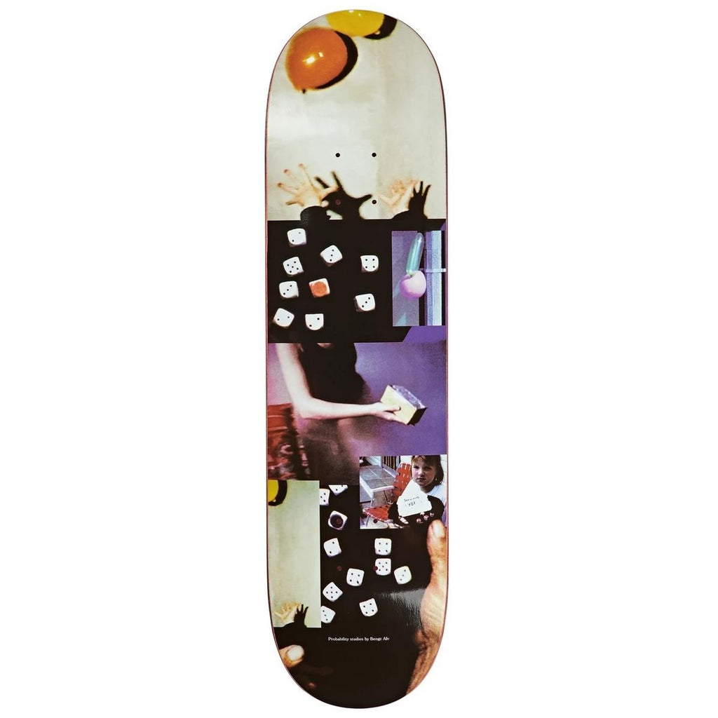 Polar Skate Co Bengt Alv Probablilty Studies Skateboard Deck White | 8""