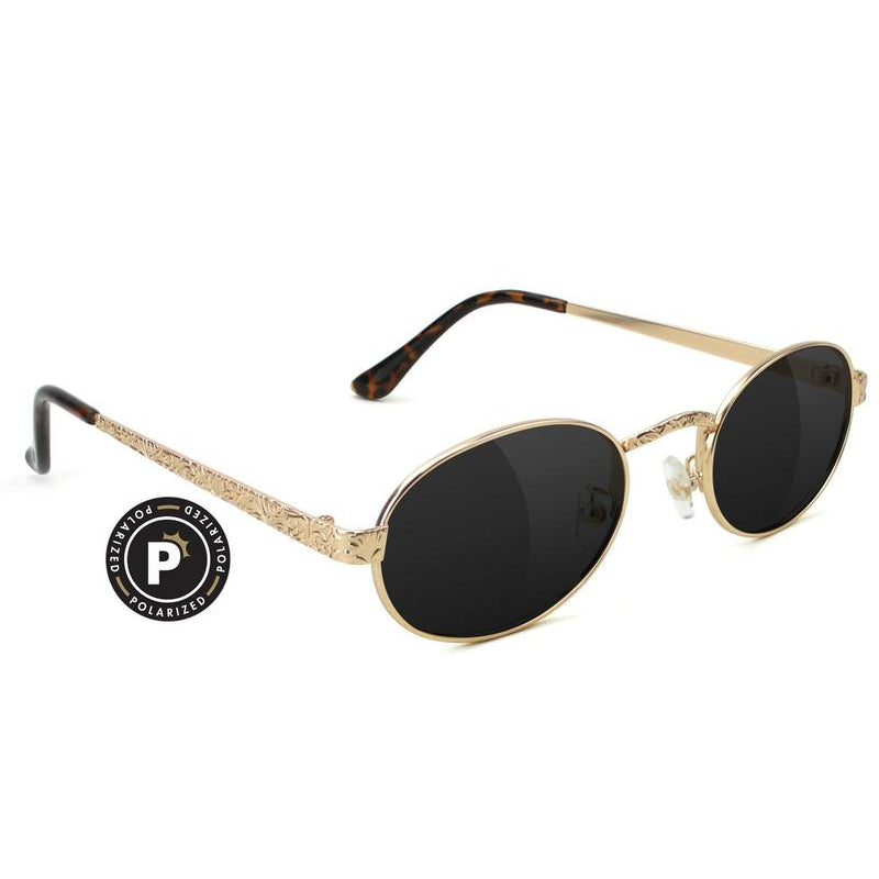 Glassy Glassy Zion Polarized Sunglasses | Gold - TVSC