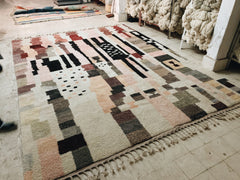 One of our newest rugs woven in the new workshop!