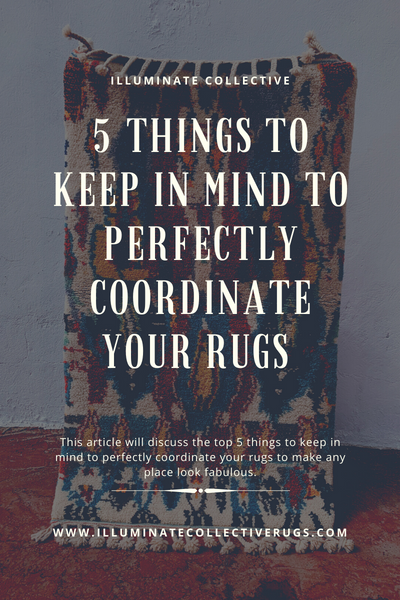Coordinate Your Rugs