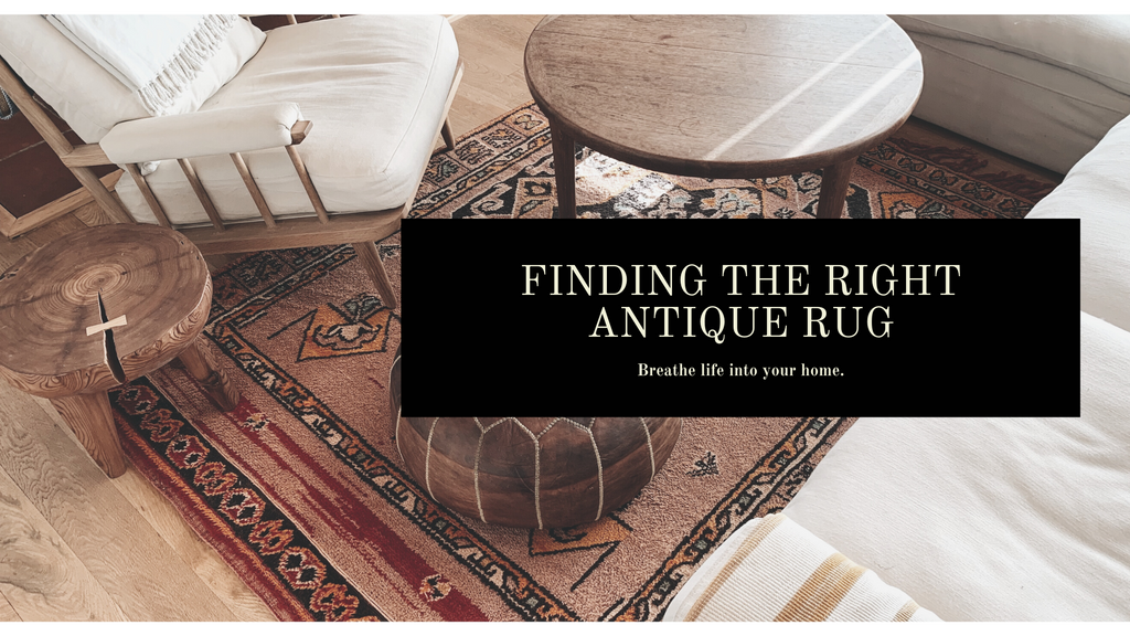 Finding the Right Antique Rug