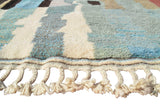 "Illuminate Collective handmade Moroccan Rug 1971 - 6'7"" x 9'3"" - 2.01m x 2.82m"