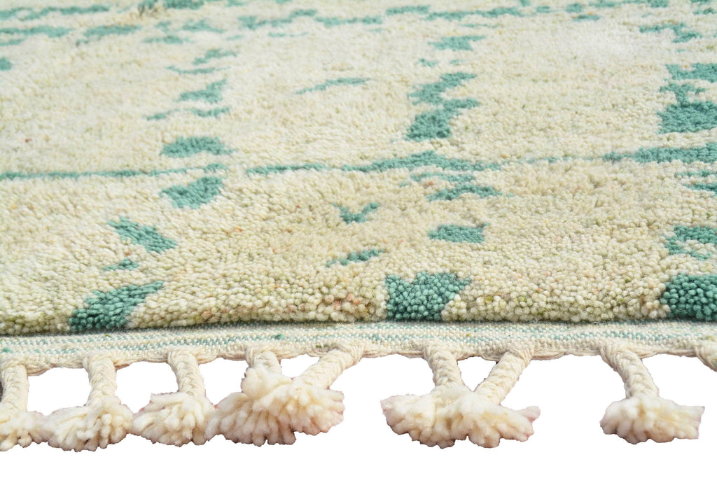 Illuminate Collective  handmade Moroccan Rug Captivated- 6'1 x 9' - 1.85m x 2.75m