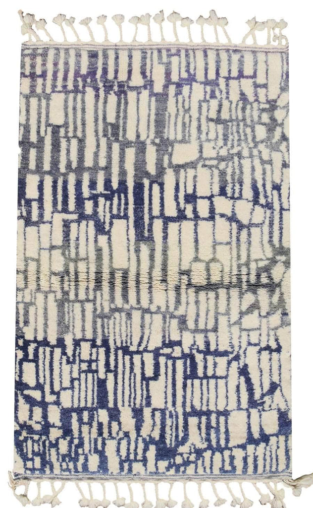 Illuminate Collective handmade Moroccan Rug Elemental - 4' x 6' - 1.21m x 1.82m