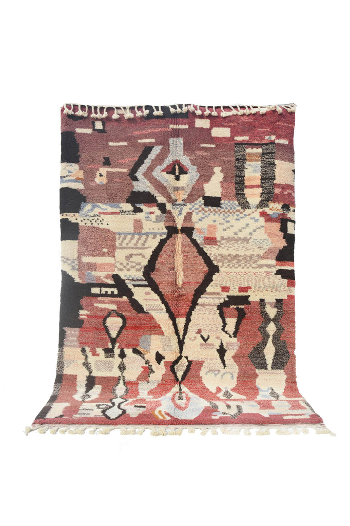 "Illuminate Collective  handmade Moroccan Rug Lost Without You - 6'1"" x 8'10"" - 1.85m x 2.70m"