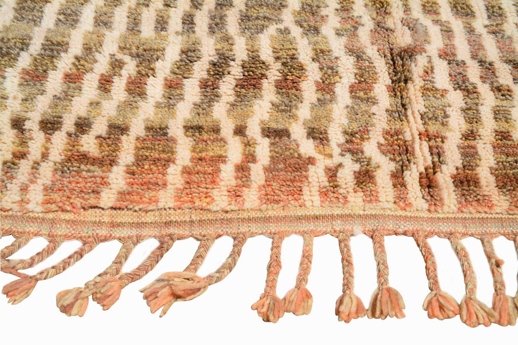 Illuminate Collective handmade Moroccan Rug True Depth - 5'1 x 7'1 - 1.54m x 2.16m
