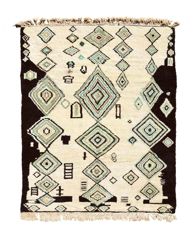 Illuminate Collective  handmade Moroccan Rug Warda - 8'6 x 10'10 - 2.62m x 3.30m