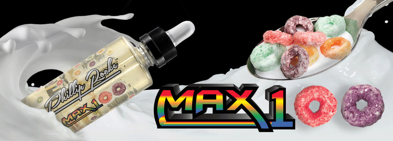 Max 100 by Phillip Rocke available at eJuices.co