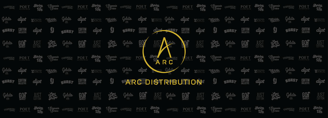 ARC Distribution products available on eJuices.co