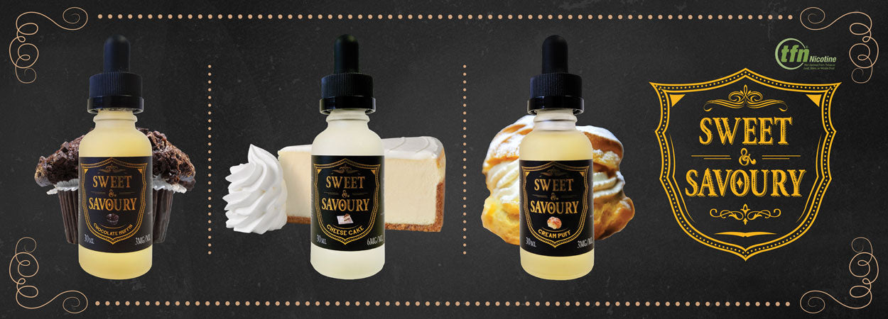 Sweet and Savoury with TFN on eJuices.co