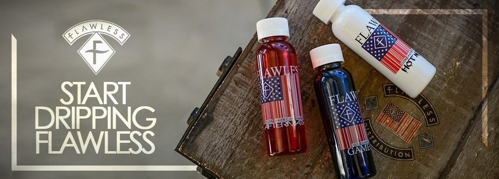 Flawless Vape Products available for wholesale at eJuices.co