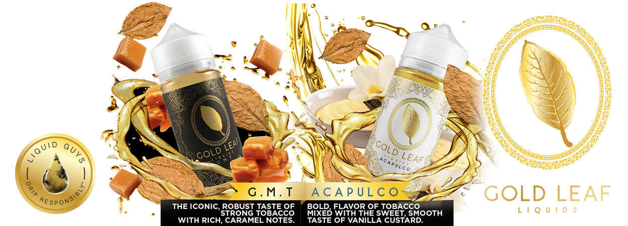 Gold Leaf Liquids available at eJuices.co