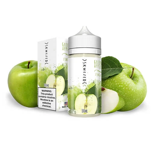 Skwezed eJuice - Green Apple - 100ml