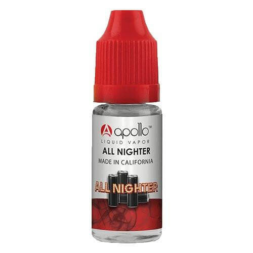 Apollo E-Liquid - All Nighter - 10ml - Wholesale on the Top Vape Products and eJuices - eJuices.co