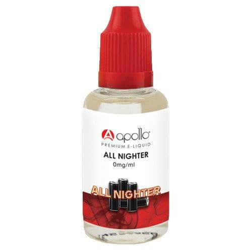 Apollo E-Liquid - All Nighter - 30ml - Wholesale on the Top Vape Products and eJuices - eJuices.co
