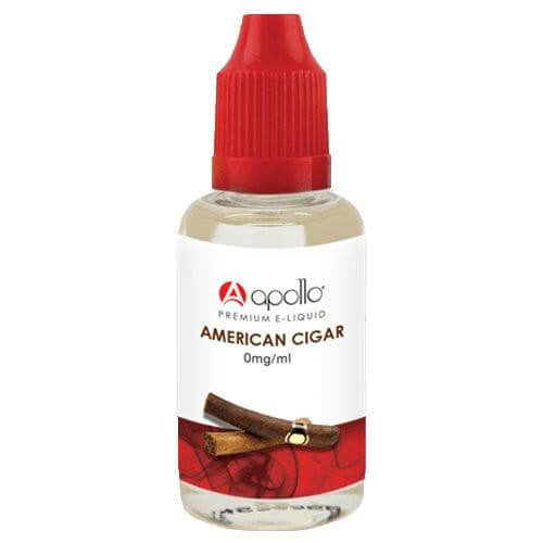 Apollo E-Liquid - American Cigar - 30ml - Wholesale on the Top Vape Products and eJuices - eJuices.co