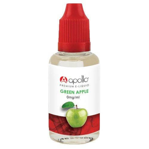 Apollo E-Liquid - Green Apple - 30ml - Wholesale on the Top Vape Products and eJuices - eJuices.co