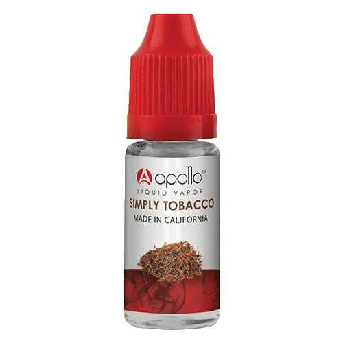 Apollo E-Liquid - Simply Tobacco - 10ml - Wholesale on the Top Vape Products and eJuices - eJuices.co