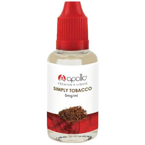 Apollo E-Liquid - Simply Tobacco - 30ml - Wholesale on the Top Vape Products and eJuices - eJuices.co