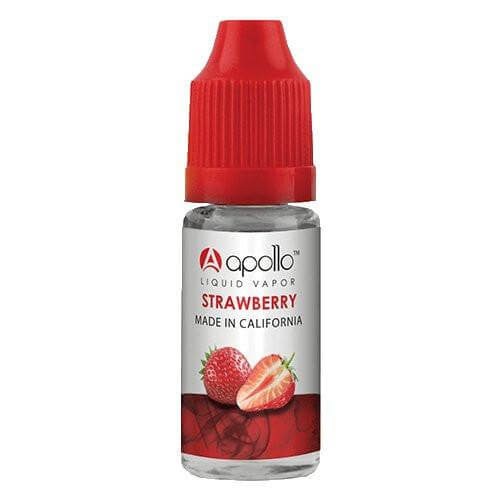 Apollo E-Liquid - Strawberry - 10ml - Wholesale on the Top Vape Products and eJuices - eJuices.co