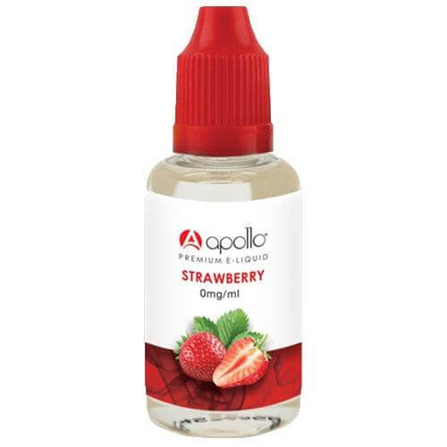 Apollo E-Liquid - Strawberry - 30ml - Wholesale on the Top Vape Products and eJuices - eJuices.co