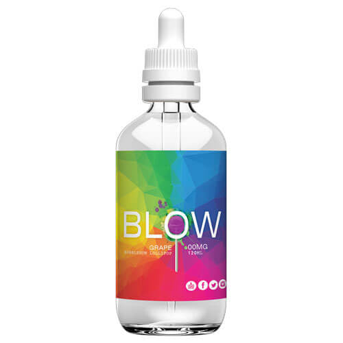 Blow Vape Juice - Grape - 120ml - 120ml / 3mg