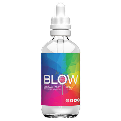 Blow Vape Juice - Strawcherry - 120ml - 120ml / 3mg