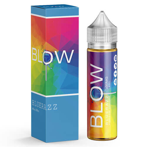 Blow Vape Juice - BlueRazz - 60ml - 60ml / 0mg