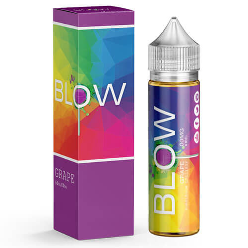Blow Vape Juice - Grape - 60ml - 60ml / 0mg