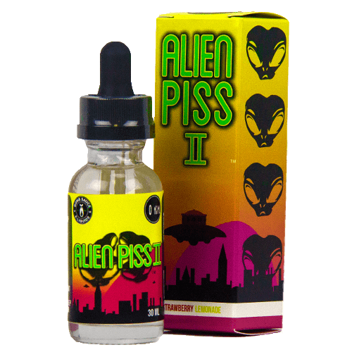 Bomb Sauce E-Liquid - Alien Piss 2 - 30ml - Wholesale on the Top Vape Products and eJuices - eJuices.co