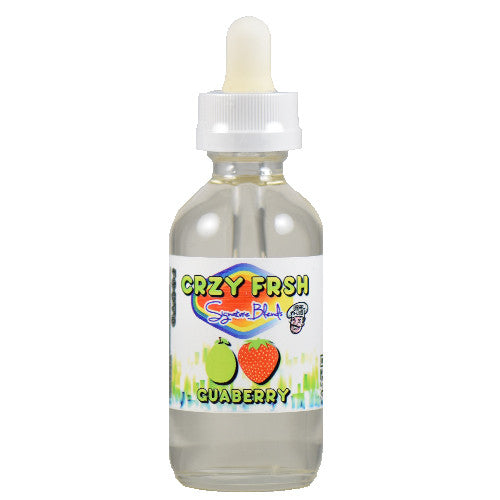 CRZY FRSH Signature Blends by Vape D-Lites - Guaberry - 60ml - Wholesale on the Top Vape Products and eJuices - eJuices.co
